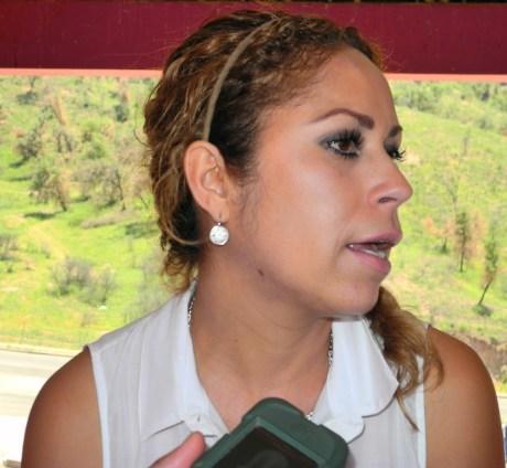 La regidora Yanula Orozco, presidenta de la Comisión de Seguridad Pública en Cabildo.
