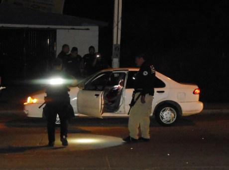 El sujeto asesinado anoche tenía antecedentes penales por conducción punible.