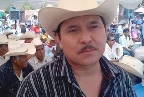 Mario Luna, vocero de la Tribu Yaqui.