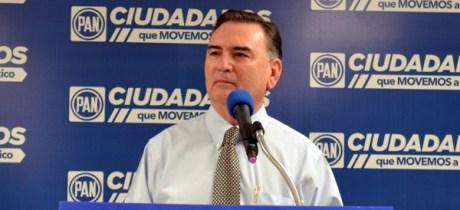 El dirigente del PAN en Sonora, Juan Valencia Durazo.