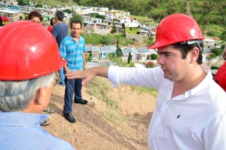 El legislador nogalense gestionó recursos para la obra.