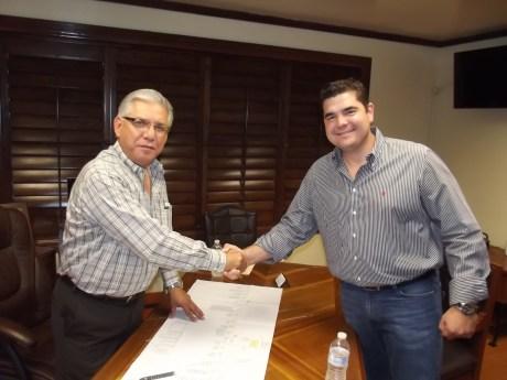 Trabajo en conjunto entre el Diputado y el Alcalde.