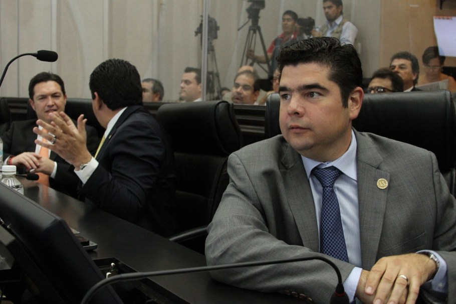 El legislador nogalense, presidente de la Comisión  de Atención a Grupos Vulnerables de la Sociedad.