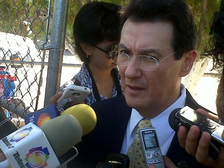 Jorge Luis Ibarra Mendívil, Secretario de Educación.
