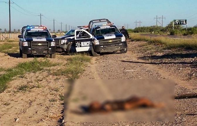 Así fue encontrado el cuerpo sin vida (foto cortesía)
