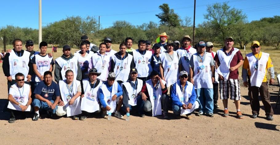 El grupo salió de Nogales por la madrugada.