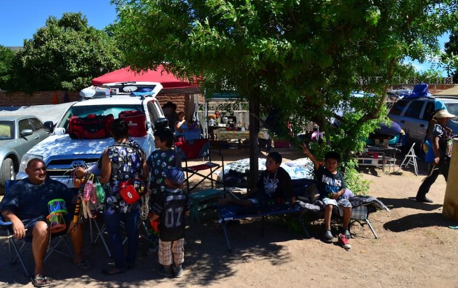 Decenas de personas pueden acampar en el lugar.
