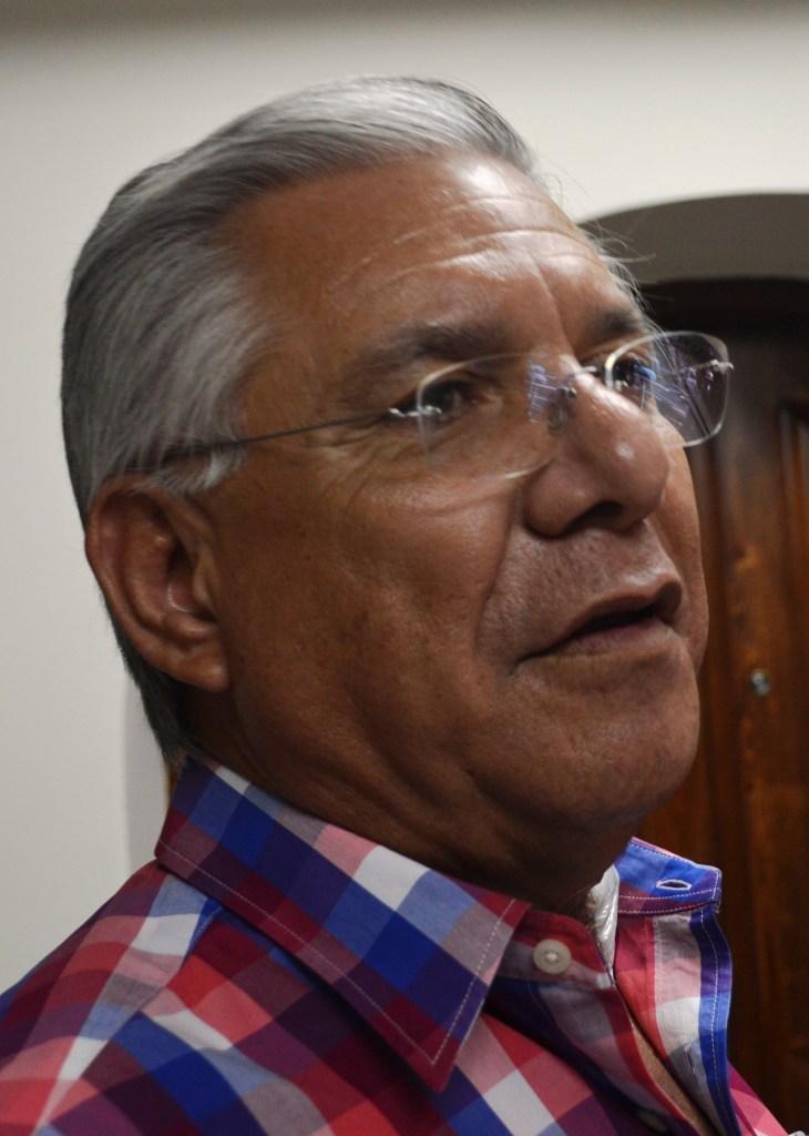 El alcalde Ramón Guzmán Muñoz.