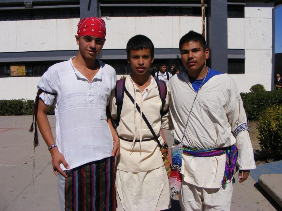 Imagen de algunos estudiantes.