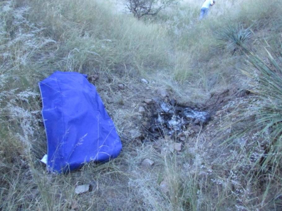 Los restos fueron encontrados calcinados.
