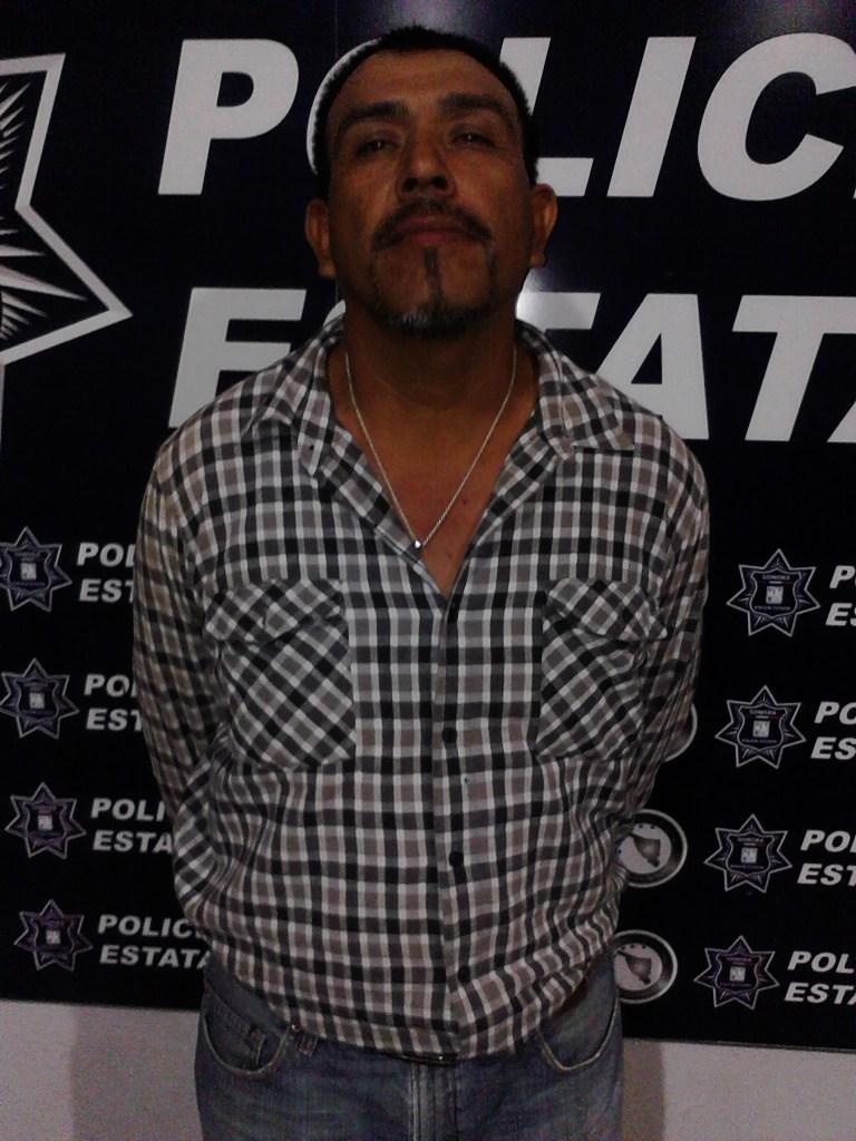 El detenido de nombre Luis Raúl.