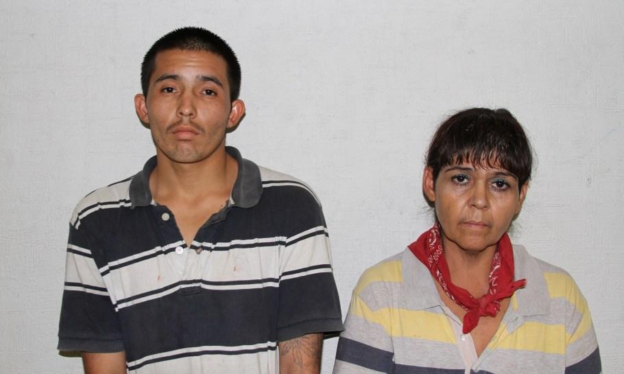 MARIA ISABEL GTZ SALCIDO Y JOSÉ OMAR RAMÍREZ ASTORGA DETENIDOS EN POSESIÓN DE DROGA.