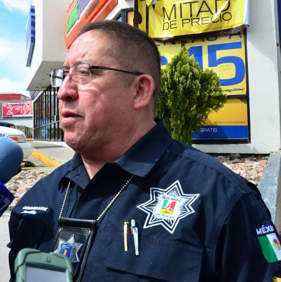 Miguel Ángel Portillo Lugo, jefe policiaco en Nogales.