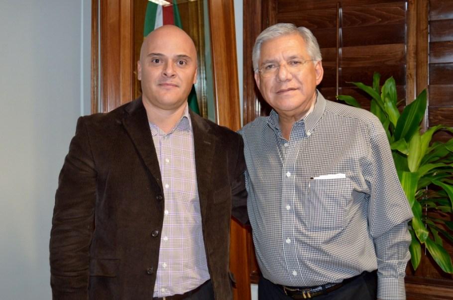 Se reúne RGM con nuevo subdelegado del IMSS Zona Norte en Sonora.