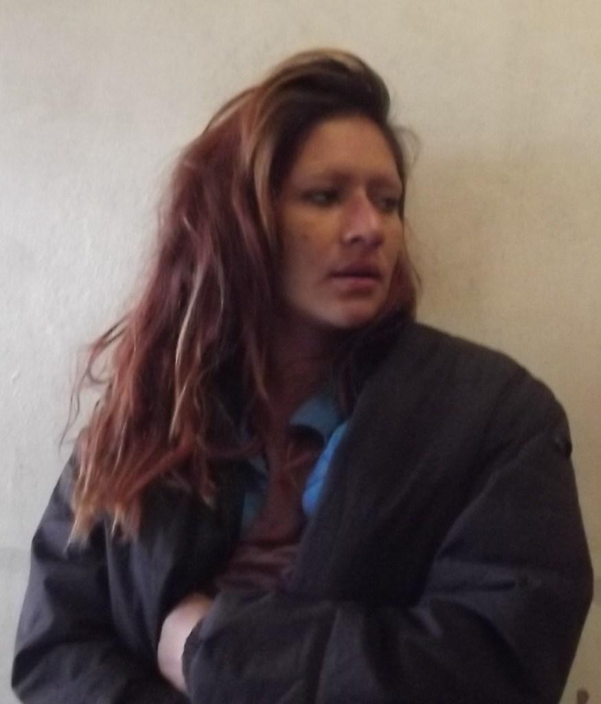 La detenida de nombre Yadit.