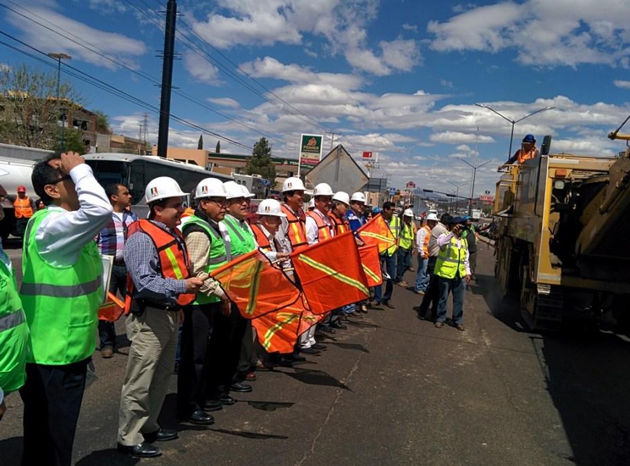 Arranca obra de modernización de la prolongación Avenida Obregón.