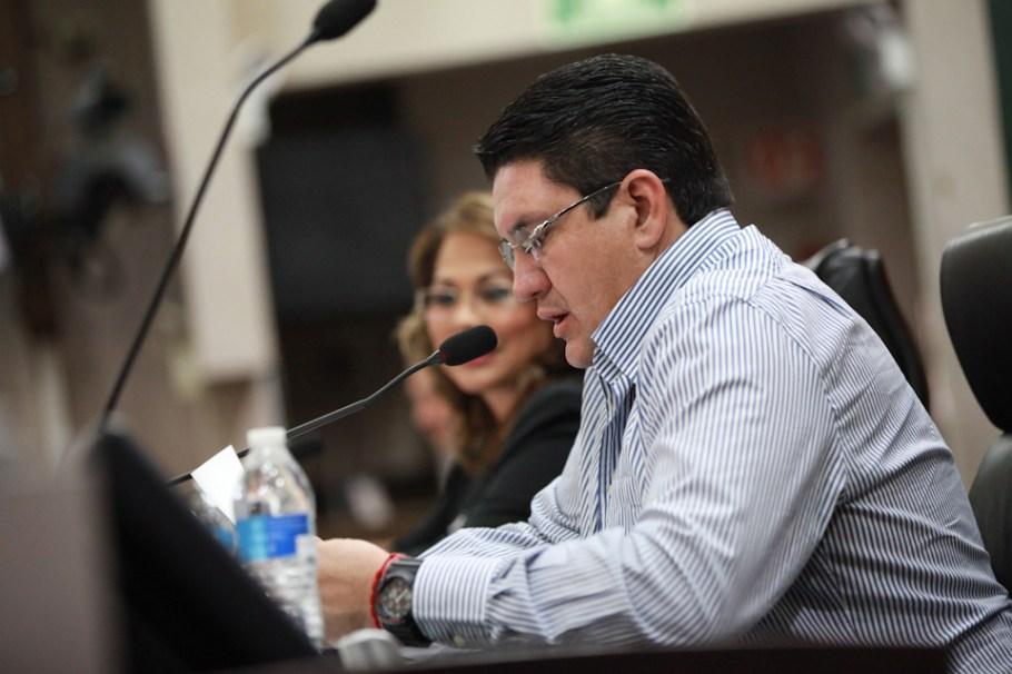 El diputado nogalense Humberto Robles Pompa.