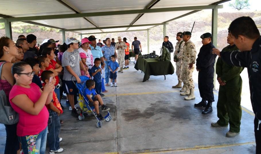 Habrá varias demostraciones del Ejército Mexicano durante el recorrido.