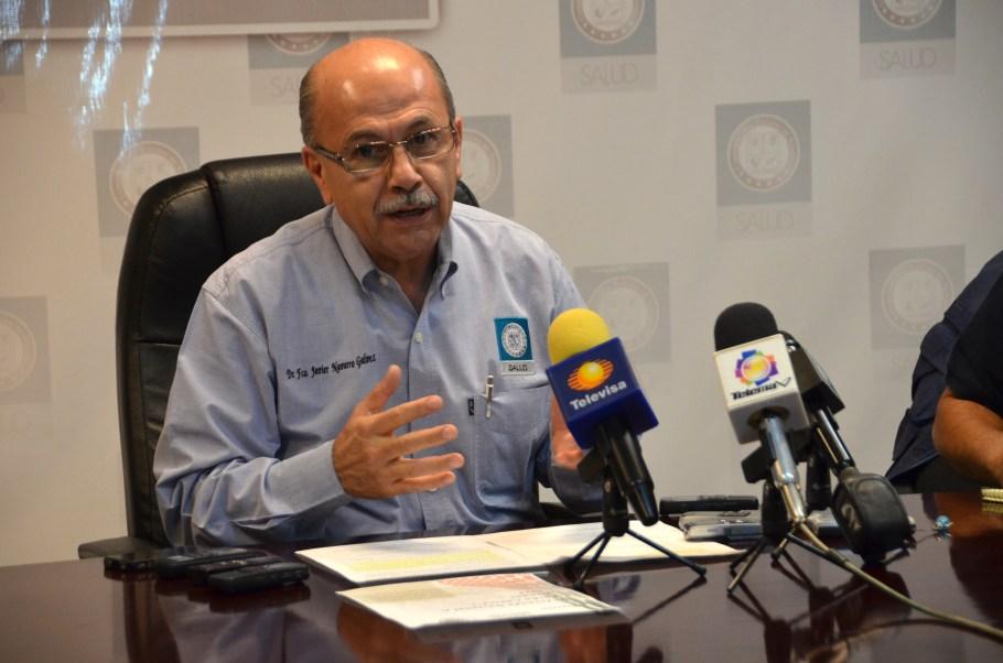 El director de Servicios de Salud a la Comunidad de la Secretaría de Salud, Francisco Javier Navarro Gálvez.