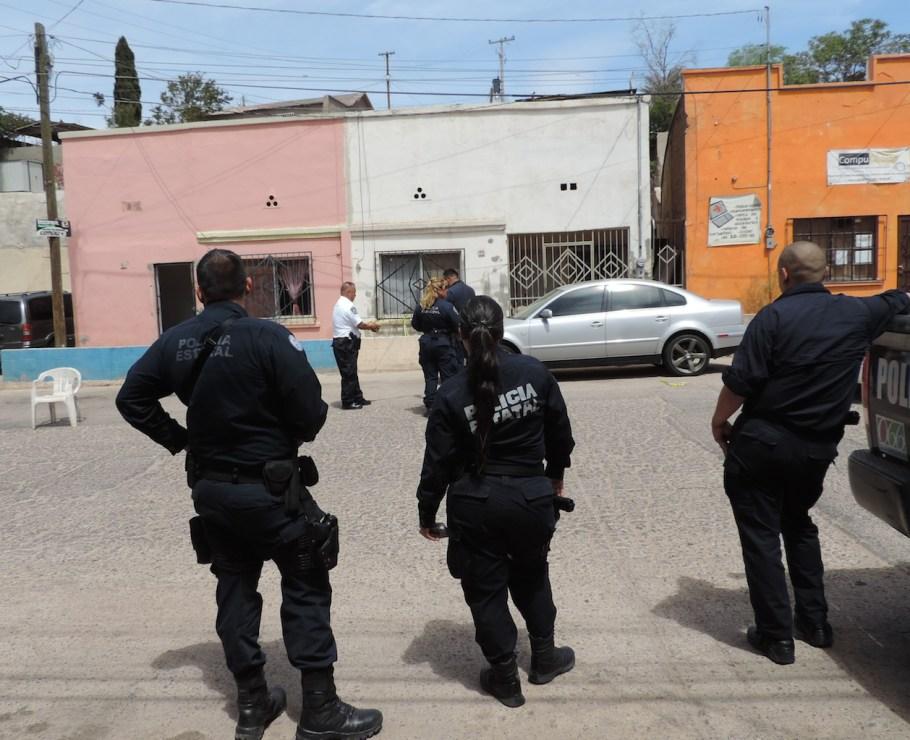 Lugar donde fue ejecutado el sujeto (foto cortesía).