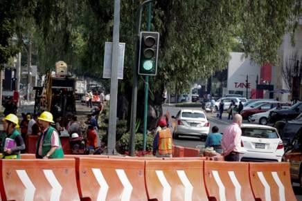 Molestos comerciantes por obras en Masaryk (No solo en Nogales pasa)