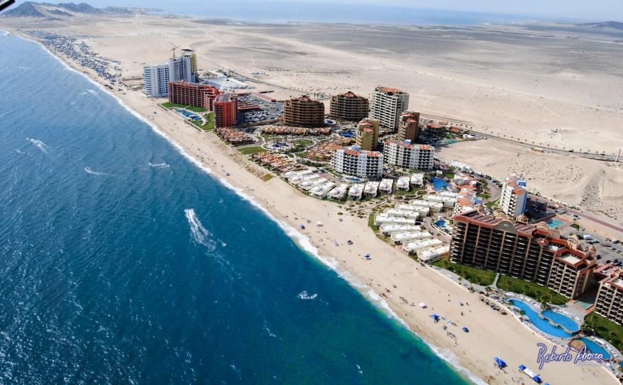 Una de las playas ubicadas en Peñasco.