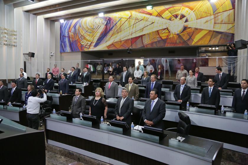 Hoy se inauguró el nuevo periodo de sesiones ordinarias.