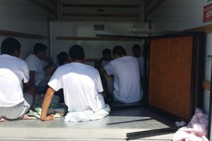 Sentencian a «burrero», lo hallaron en una «traila» llena de migrantes, a los que llevó desde Nogales a Phoenix, AZ