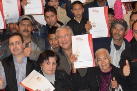 Inicia Gobierno Municipal campaña de entrega de Cartas de Asignación en terrenos irregulares