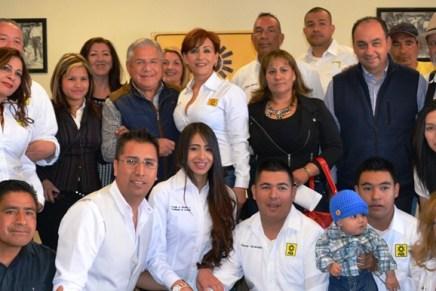Acompaña Alcalde al PRD en apertura de nuevas oficinas
