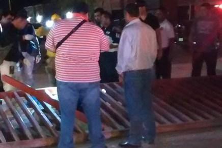 Muere aplastado guardia de seguridad al caerle encima portón del Distrito de Riego