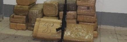 Aseguran 359 kilos de marihuana en diversos hechos entre Santa Ana y Caborca