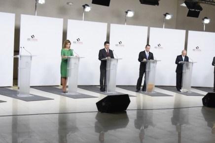 Contrastan ideas en debate candidatos al gobierno de Sonora