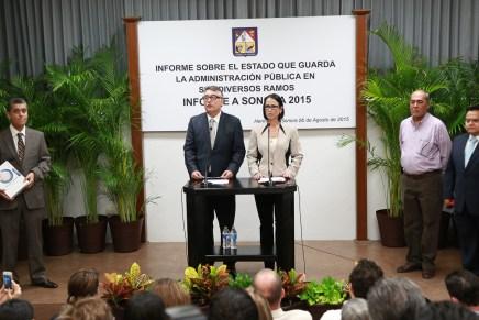 Falta de respeto para los sonorenses y para el Congreso, envío del informe del gobernador saliente: AGR