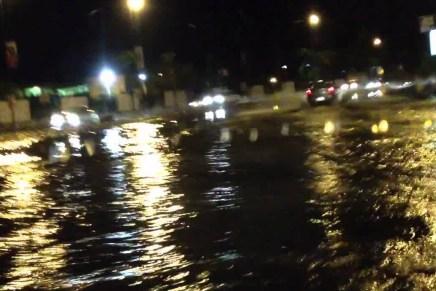 Genera huracán «Linda» lluvias en la mayor parte del estado