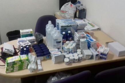 DIF Sonora dota de medicamentos a Albergue Camino a Casa de Nogales