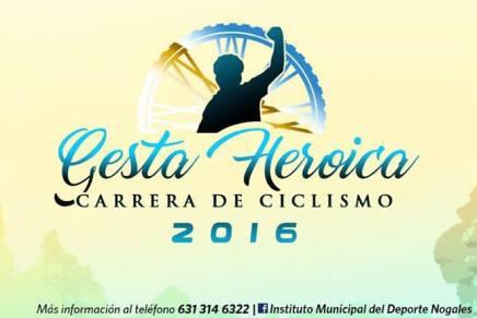 Invitan a carrera ciclista 2016 por Gesta Heroica