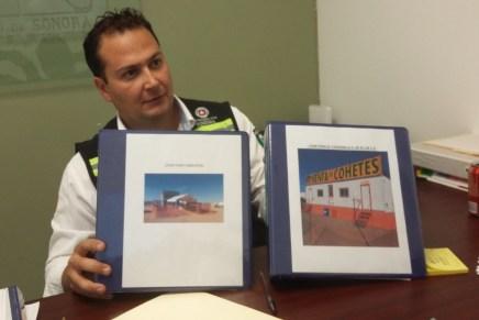 Sólo cinco comercios pueden vender «cuetes» y pirotecnia en Nogales: UEPC