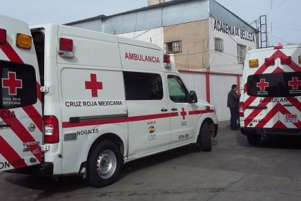 Robó sujeto equipo del interior de una ambulancia, pero fue rápidamente capturado