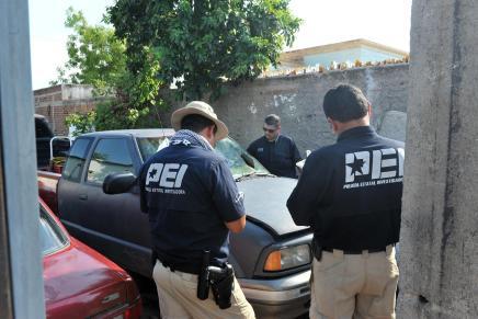 Resuelven agentes de la AMIC robo a domicilio en Pueblitos