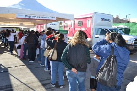 Lleva Secretaría de Salud servicios a la colonia La Mesa en Nogales