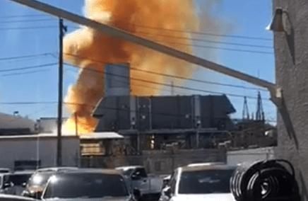Explosión en planta de energía eléctrica deja sin luz a Nogales, Arizona