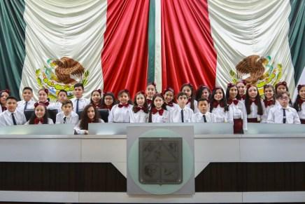 """Realizan la XX edición del programa """"Diputado Infantil por un Día 2017"""""""