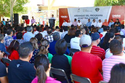Inicia en Sonora Academia CONADE de Beisbol para la detección de talentos