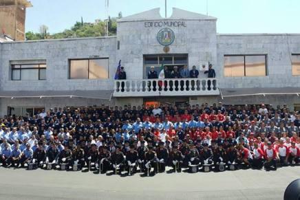 Recibirán bomberos apoyo de 25 mil dólares provenientes del Fideicomiso del Parque Industrial