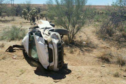 Dejan accidentes en tramo carretero Nogales-Tucson, dos muertos