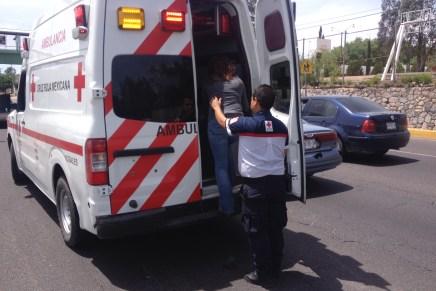 Deja par de choques a un lesionado y daños por miles de pesos