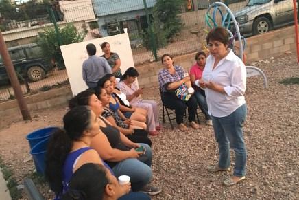 Culmina Leticia Amparano semana de trabajo exitosa por Nogales