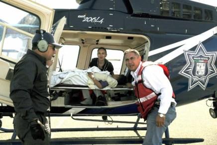 Trasladan vía aérea a menor lesionado en accidente donde murieron 3, cerca de Kino