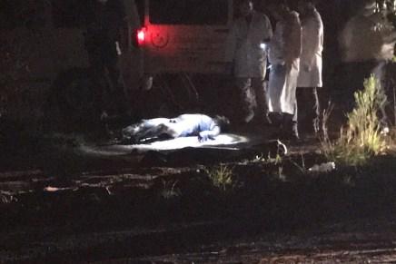 Hallan cadáver calcinado, en área despoblada cerca del nuevo hospital del IMSS